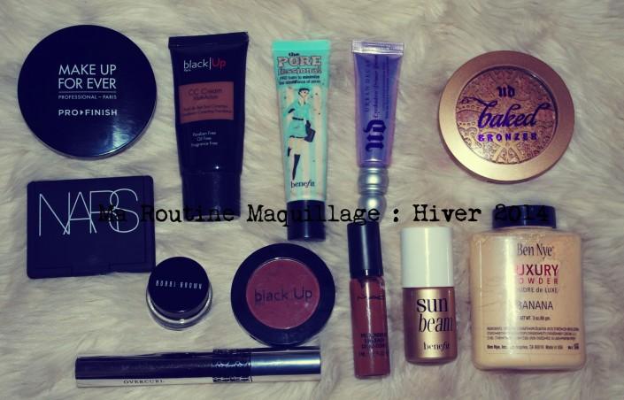 Routine maquillage, comment je procède
