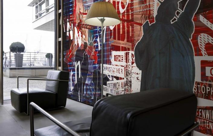 D corer sa chambre avec un papier peint new york for Deco murale new york