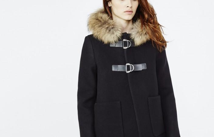 Manteau capuche fourrure : le look qu'il vous fallait