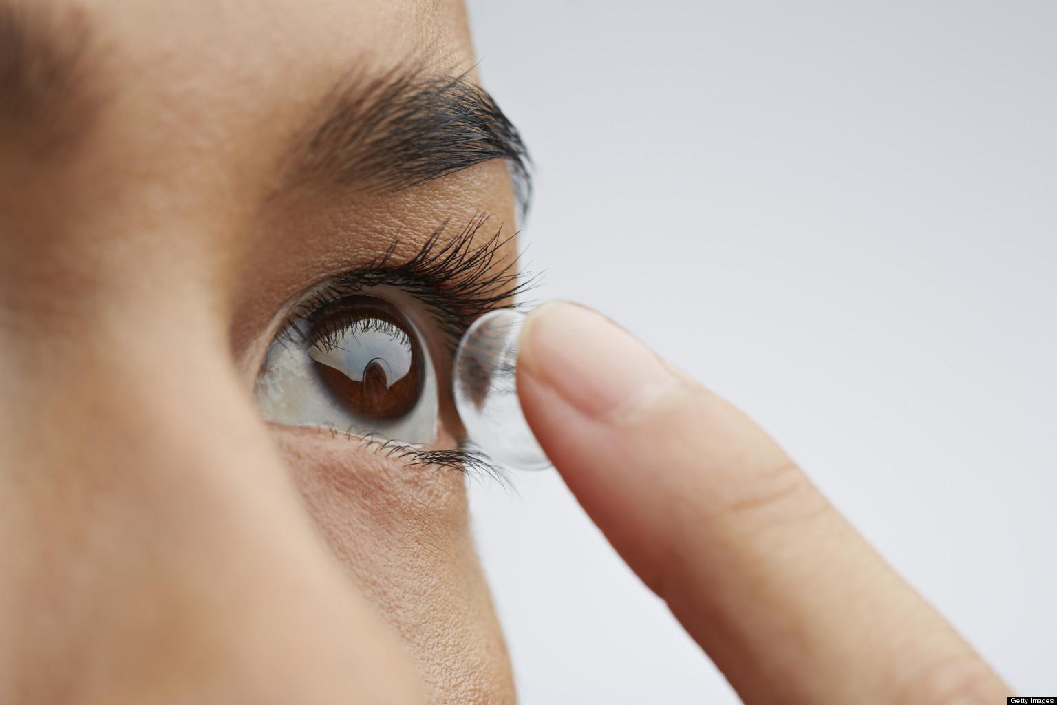 Lentille de contact : changez rapidement de look
