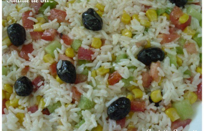 Salade de riz, une recette délicieuse
