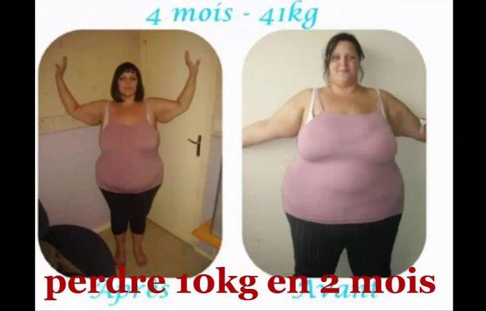 Comment perdre 10 kg en un mois ?