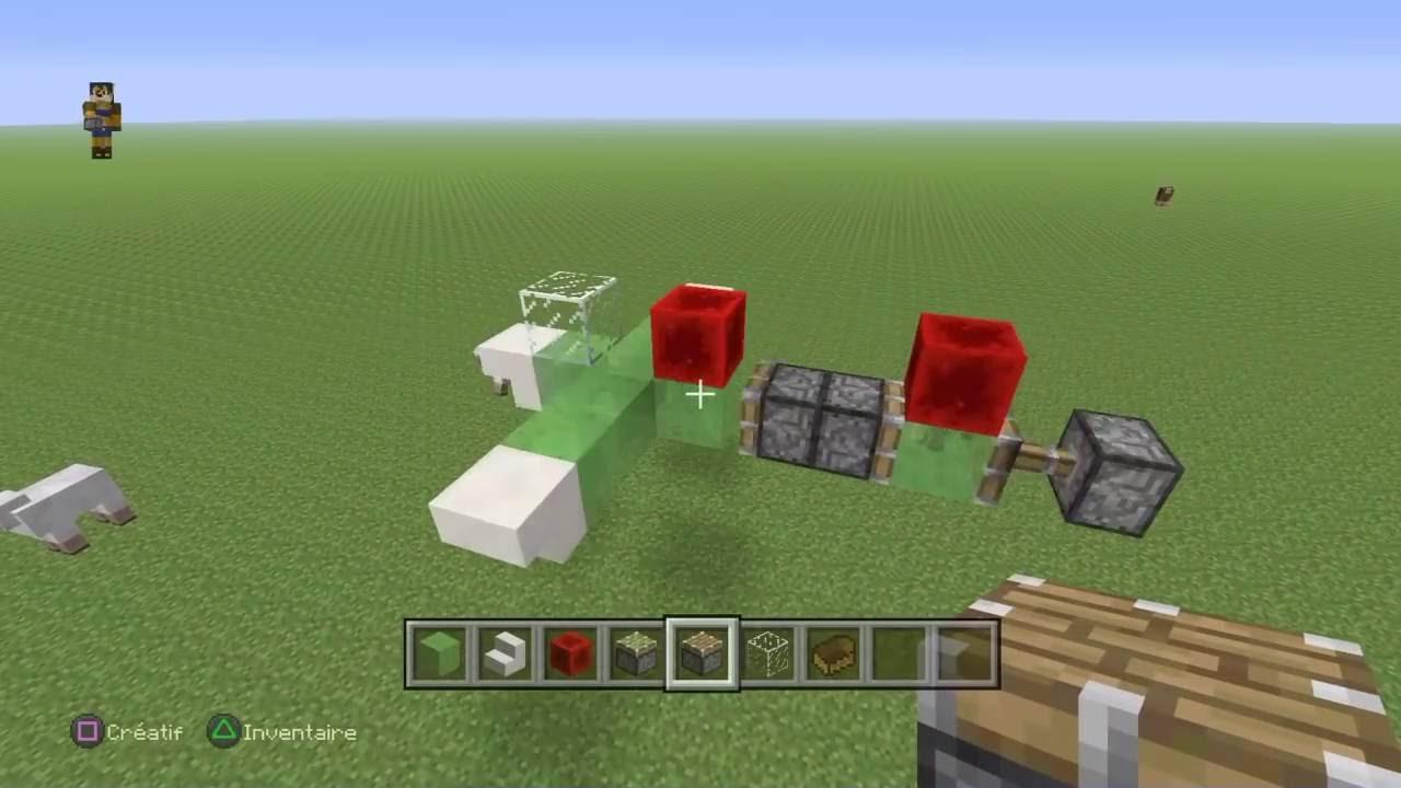 Comment faire un avion dans minecraft - Comment faire une laisse dans minecraft ...